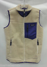 Patagonia Womens Classic Retro-X  Vest 23082 Natural Size Medium