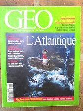 GEO n°210,août 1996:Réunion,Maroc,Inde:trains,Atlantique,rhinocéros,Préhistoire