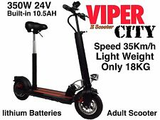 ELECTRIC SCOOTER 400 W 24V le batterie al litio, Viper City nuovo modello 2016, bilanciere da 18kg