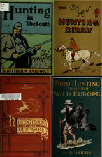 170 RARE BOOKS ON HUNTING, BIG GAME OUTDOOR GUN SPORT, HUNT, SHOOTING & MORE