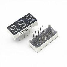 5PCS Red 0.28 inch 3 Digit Red LED Display 7 Segment Common Cathode New