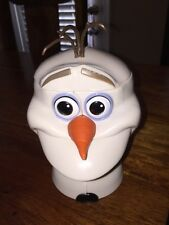 DISNEY On Ice Frozen OLAF Snowman Cup Mug With Hinge Lid - Not In Stores #2