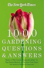 The  New York Times  1000 Gardening Questions and Answers by Leslie Land,...