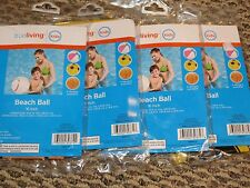 "True Living 16"" Beach Ball Lot Ages 2+ New"