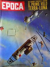 EPOCA n°569 1961 Mario Sironi - Il primo volo Terra Luna - Koniev  [C79]