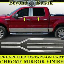 2006-2008 Lincoln Mark LT Crew Cab Chrome Window Sill Trims Covers Belt Line