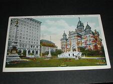 City Hall and Royal Bank Of Canada, Winnipeg Manitoba Postcard Canada