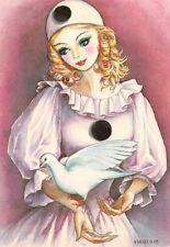 CPM - Carte Postale  -  illustration VIRGINIE - Colombine