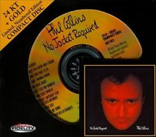 SEALED AUDIO FIDELITY GOLD CD / DISC  PHIL COLLINS - NO JACKET REQUIRED # 3476