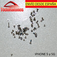 set conjunto tornillos tornillo torx para iPhone 5 5G G reemplazo set screws
