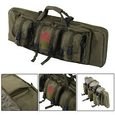 Single Rifle Bag 36″ Tactical Padded Carbine Gun Weapons Case Hunting w/ Straps