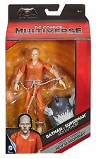 "Dc Multiverse LEX LUTHOR Jail 6"" Action Figure Dc Comics BAF 52 Doomsday"