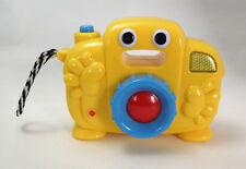Megcos LITTLE CAMERA Pretend Play Toddler Toy Flash Talking Shutter Sound Baby