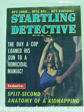 """Startling Detective"" May 1973 Bondage Cover"