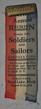 17th Annual County Line Soldiers & Sailors Association Ribon Sand Lake Mich