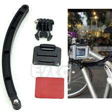 High Quality Helmet Extension Arm Mount Kit For Gopro Hero3 Motorcross Accessory