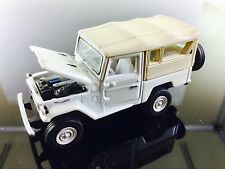 RARE JOHNNY LIGHTNING CLASSIC GOLD WHITE LIGHTNING 80 TOYOTA BJ-40 LAND CRUISER