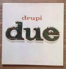 DRUPI / DUE - LP (1975 gatefold) copertina con particolarità