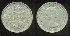 ROYAUME UNI  half crown   1955   ( bis )