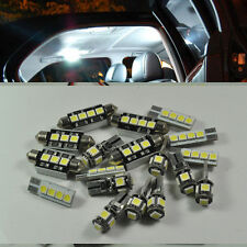 For BMW X5 E53 2000-2006 White 12 Light SMD LED Interior Package Kit Error Free