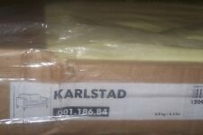 New Ikea Karlstad COVER SET ONLY for Two [2] seat sofa in Sivik Lemon