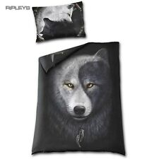 Spiral direct Literie Couette Simple & Taie d'oreiller Wolf chi Yin Yang
