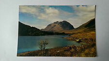 Vintage Liathach from Loch Clair, Wester Ross colour postcard c1960s