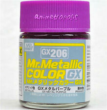 MR HOBBY Color Gunze LACQUER GX206 Metallic Purple MODEL KIT PAINT 18ml