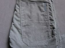 DIESEL PAFU PANT MENS SLIM STRAIGHT LIGHT GRAY CORDUROY JEAN PANTS SIZE 26 NEW