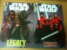 Star Wars Legacy Comics #2 & #6  Force Awakens Rogue