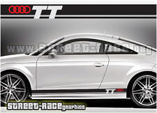 Audi 004 racing stripes graphics stickers decals TT quattro