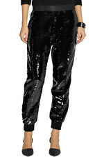 Giambattista Valli Sequin Black Pants Sz 44/6/8 NEW $1835