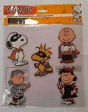 Snoopy Halloween / Peanuts - 5 Fensterbilder selbstklebend / Neu & OVP