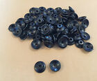 50 x Button Lashing Cleats Bungee Trailer Cover Tie Down Plastic Rope Hooks Boat