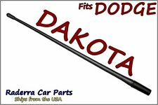 "FITS: 1997-2011 Dodge Dakota - 13"" SHORT Custom Flexible Rubber Antenna Mast"