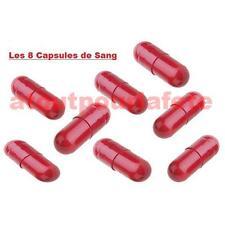 Capsule de sang (8),Gélule,FX,Hémoglobine,Maquillage,Halloween,Déguisement,Fête