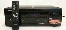 DENON AVR-E200 5.1 CHANNEL 3D PASS THROUGH HOME THEATER AV RECEIVER *UNTESTED*