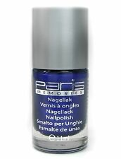 Prezzo base 28,21 €/100ml NUOVO SMALTO BLU METALLIZZATO Paris Memories NAIL POLISH