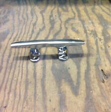 """Yacht Cleat Chrome Plated Bronze 5 1/2"""" Boat"""
