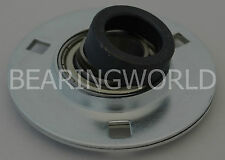 "NEW SAPF205-14 High Quality 7/8"" Eccentric Pressed Steel 3-Bolt Flange Bearing"