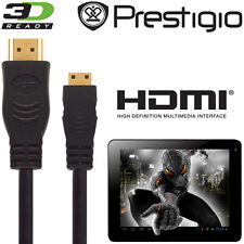 Prestigio Multipad 7, 8, 9.7 Tablet Android Hdmi Mini A Hdmi Tv 5m Cable Kabel