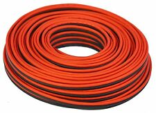 100' feet TRUE 12 Gauge AWG CCA Speaker Wire Car Home Audio Red and Black