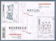 France 2011 Bourdelle/Maillol/Statues/Art/Sculpture/Naked/Nude 2v m/s (n39183g)