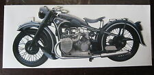 C P  CARTE POSTALE BMW R12 PAPER HOUSE PRODUCTION