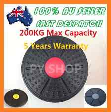 NEW Professional Balance Board Fitness Wobble Yoga Plastic Pilates Disc Home Gym
