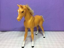 1983 Barbie Dream Horse/Foal. Dixie, Palomino With Curly Hair + Tail, L3...