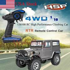 1 / 10 Scale 2.4G RC High Performance 4WD RTR Off Road Car Rock Climbing Car Hot