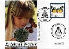 Numisbrief 1992 Erlebnis Natur mit 5 DM VN Umweltkonferenz 1982 N_038