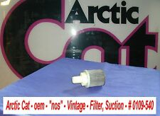 "Arctic Cat oem Filter, Suction # 0109-540 1974 VIP ""nos"" Vintage"