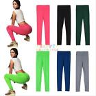 Women YOGA Running Sport Pants High Waist Cropped Leggings Fitness Trousers NEW